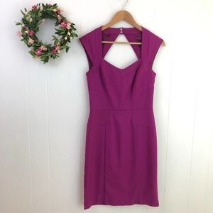White House Black Market Cut Out Sheath Dress